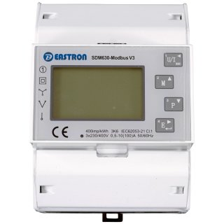 Growatt Smart Meter 3phasig Eastron SDM630-Modbus V3 Überwachung der Solaranlage