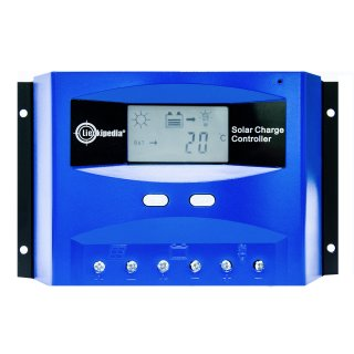 60 A PWM Solar Laderegler  mit Display 12 V / 24 V für Inselanlage Solaranlage