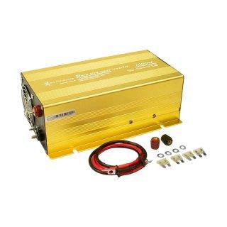 1000 Watt 24 V Spannungswandler Inverter Solartronics für Solar, Reiner Sinus