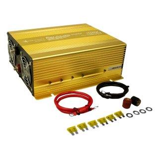 1500 Watt 24 V Spannungswandler Inverter Solartronics für Solar, Reiner Sinus