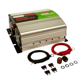 1000 Watt 12 V Spannungswandler Solartronics für Solar, modifizierter Sinus