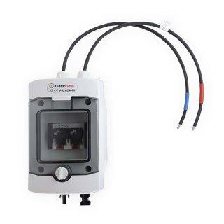 Generatoranschlusskasten 1 String mit Lasttrennschalter und 2x63A Sicherung