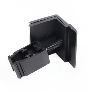 10 Stück schwarze Endklemmen 33 - 45 mm Befestigung Solarmodule PV Solar