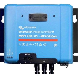 85A MPPT Solar Laderegler mit Display und MC4 12V/24V/48V für Insel Solaranlagen